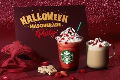 【10月11日発売】真っ赤で怪しげな新作『ハロウィン レッド ナイト フラペチーノ』『ハロウィン マスカレード ラズベリー モカ』