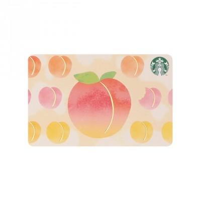 スターバックス カード ピーチパレード(¥1000〜入金可能)