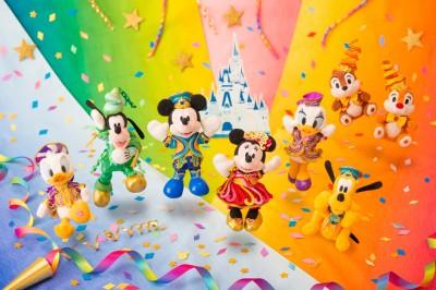 東京ディズニーリゾート35周年『Happiest Celebration!』をお祝いするグッズが登場!
