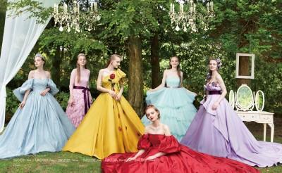 マルチクリエイター三浦大地デザインのディズニープリンセスドレスが登場/ディズニーコレクション第6弾