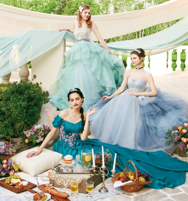 2b439aa5256 画像・写真 | キュートなドレスが勢ぞろい『ディズニー ウエディング ...