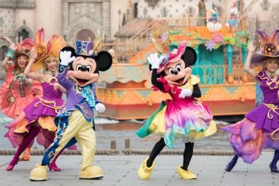 東京ディズニーシー「ディズニー・イースター」エンターテイメントプログラム『ファッショナブル・イースター』