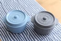 『COCOPOT ココポット ラウンド お弁当箱』¥2,160(税込)/アンジェ限定色:4月下旬〜5月上旬入荷