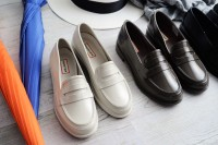 HUNTER ORIGINAL PENNY LOAFER ラバーローファー(税抜1万5000円/HUNTER)