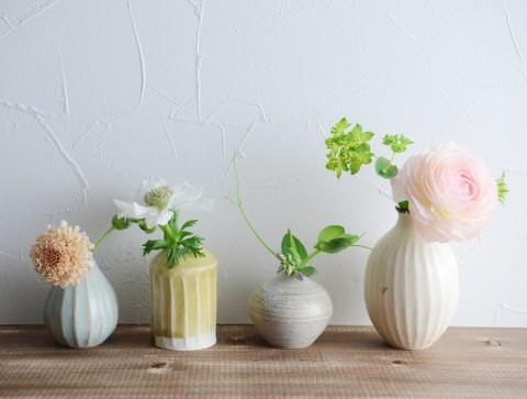 サムネイル 【画像】花のある暮らし:フラワーベース、ハーバリウム、ドライフラワー