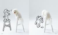 写真集『白モフ 〜A Dog Named ビションフリーゼ〜』(世界文化社)
