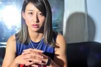 総合格闘家・杉山しずか 撮影/臼田洋一郎