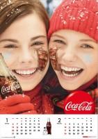 コカ・コーラのカレンダー2013年度版