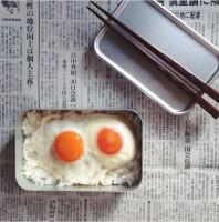 SNSで最も反響のあった「目玉焼き弁当」制作&写真/bento_shimadaya