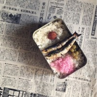 「昭和の弁当再現。 再現元は『となりのトトロ』でさつきがお父さんに作ったお弁当」制作&写真/bento_shimadaya