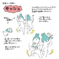 生後5ヶ月〜一般的バンギャのモッシュなので 高速阿波踊りです。