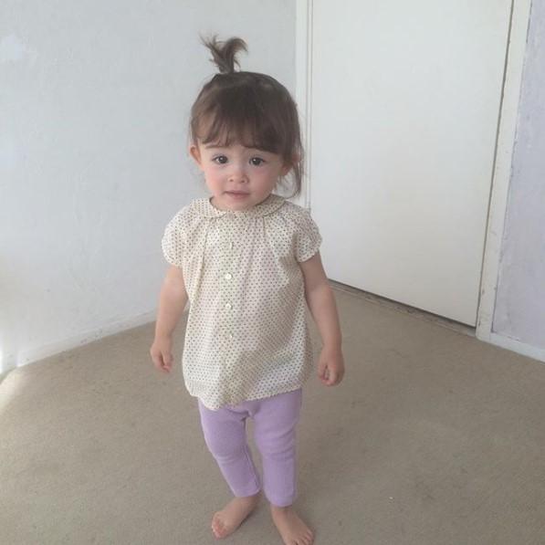 赤ちゃんの頃からモデルを務めるメアリーちゃん