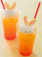 スペシャルメニュー『ホライズンベイ・レストラン スペシャルドリンク(オレンジ&クリーム)』(450円)