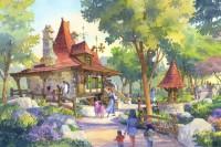 ディズニー映画『美女と野獣』をテーマにしたエリア「ファンタジーランド」