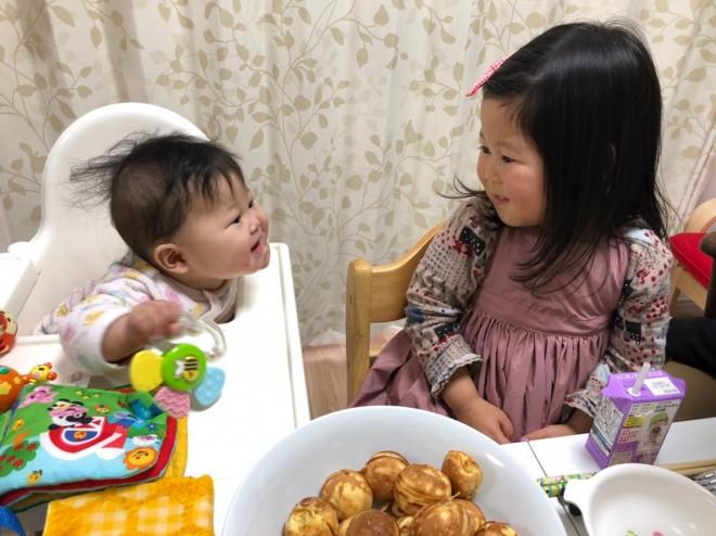 お姉ちゃんにお世話されるのが大好きな妹さんと妹の世話をするのが大好きなお姉ちゃん