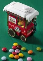 カラフルチョコレート、ミニスナックケース付き ¥850 東京ディズニーランド 「アイスクリームコーン」「キャンプ・ウッドチャック・キッチン」「グランマ・サラのキッチン」ほか