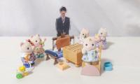 藤井聡太二冠(アクリルスタンド)によるシルバニア将棋教室