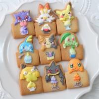 ポケモンのアイシングクッキー(画像提供:まんなたぬきさん)