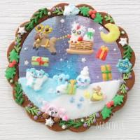 ポケモンたちのアイシングクッキー(画像提供:まんなたぬきさん)