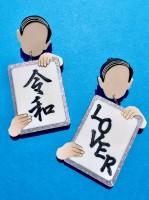 令和LOVERピアス(画像提供:ZOKUZOKUさん)