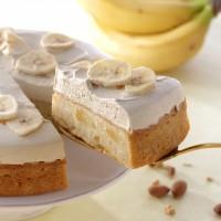 バナナのアーモンドミルクケーキ(¥484)