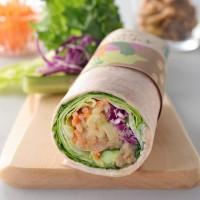 10種の野菜と5種のビーンズ サラダラップ(¥484)