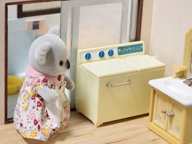 懐かしの二層式洗濯機(画像提供:KanaFettさん)