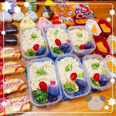 家族の食べる量、好みに合わせて作られた、8人家族ママのお弁当