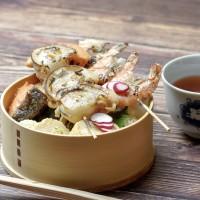 海鮮BBQ弁当
