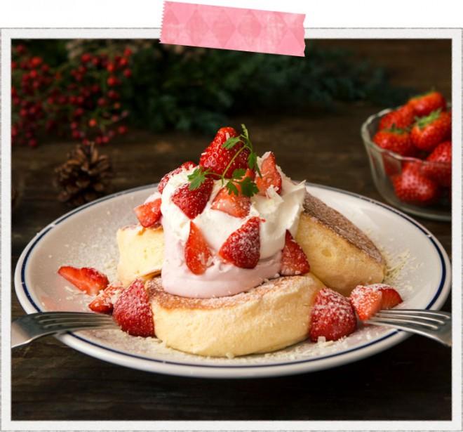 奇跡のパンケーキ ミルキーストロベリー/FLIPPER'S