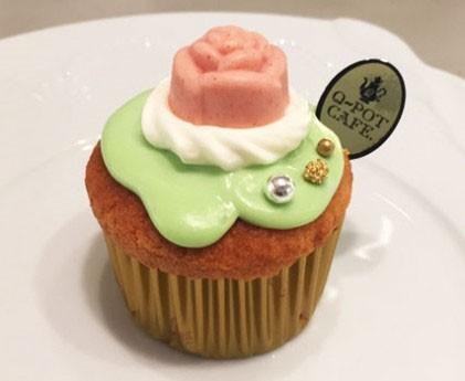 『ローズカップケーキ』/620円