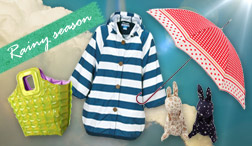 便利☆オシャレ☆機能的! 雨の日が好きになるRain goods