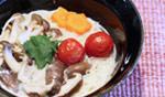 キレイになれるお手軽レシピ動画 川村ひかる「賢食健美」Vol.8 豆乳を使ったホッコリ煮麺