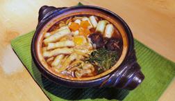 キレイになれるお手軽レシピ動画 川村ひかる「賢食健美」Vol.11 味噌煮込みうどん