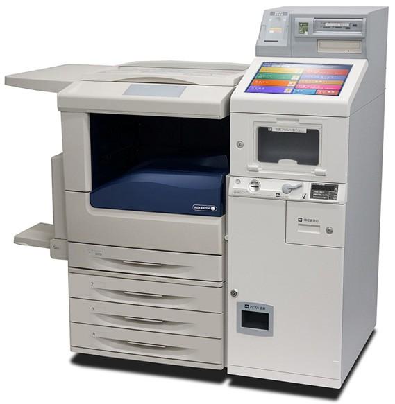 全国のセブン‐イレブンに設置されている、富士ゼロックスのマルチコピー機