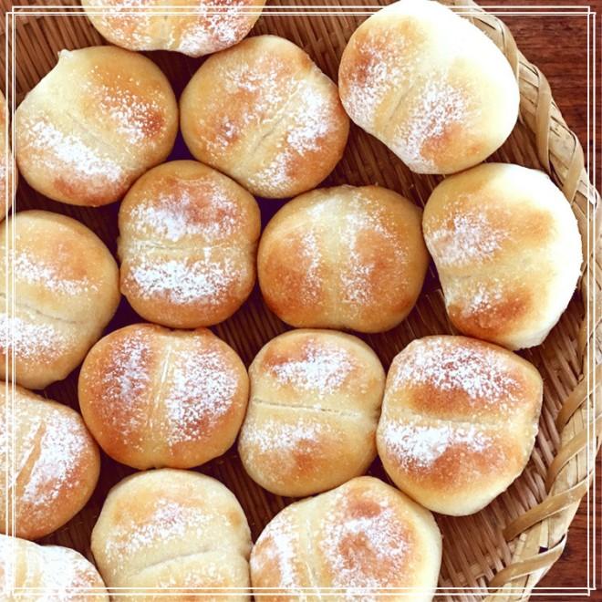 自家製酵母で作ったパン