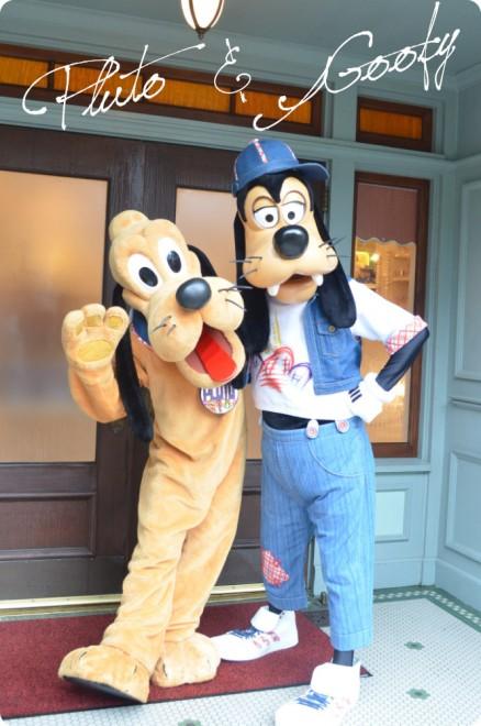 Pluto&Goofy