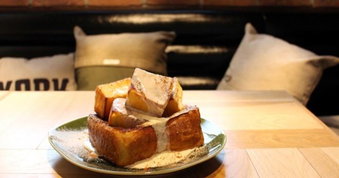サムネイル 【渋谷】リノベ風カフェで食べる「おふくろの味」 甘党必見の半斤フレトーも!