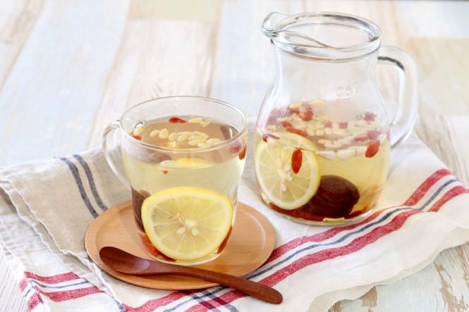 薬膳レモン白湯