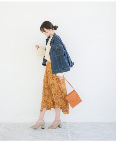 ALL1万円以下!子供っぽく見えない「オトナの花柄スカート」4選