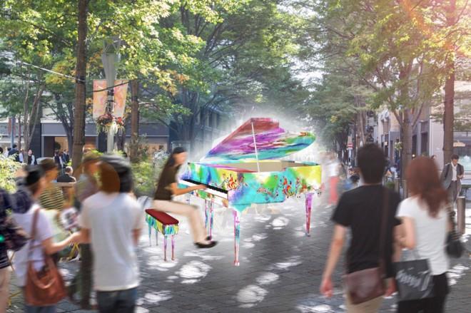 サムネイル インスタ映えするピアノが街中に出現! 丸の内GWイベントいよいよ開催!