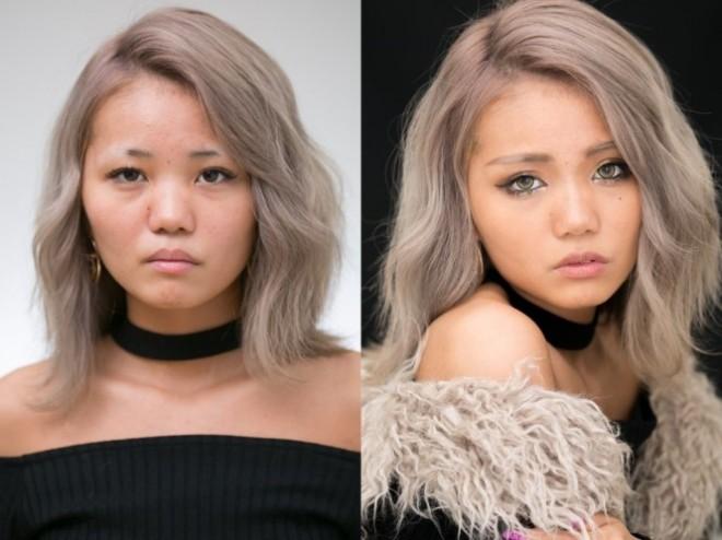 詐欺メイクまとめ】化粧のやり方大公開! デカ目、涙袋