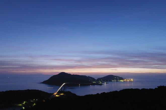 伊王島夜景