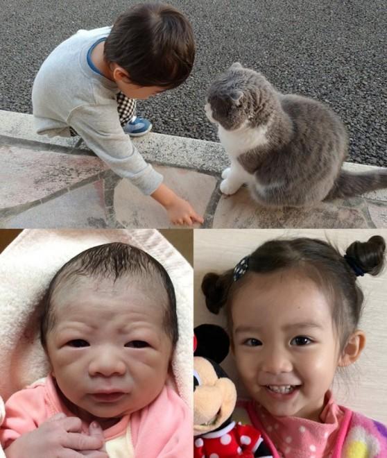 """サムネイル 飼い猫に道を教える息子、""""沼の主""""顔の赤ちゃん…『#育児衝撃画像』に「癒される」「かわいすぎる」"""