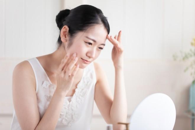 スキンケアを見直すことは、様々な肌トラブル改善につながるという